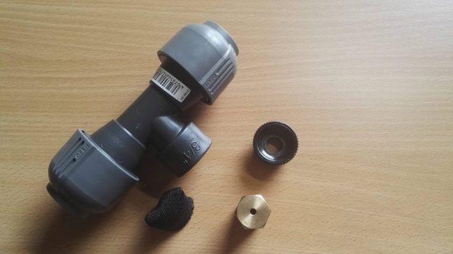 Assembly Gardena drainage valve