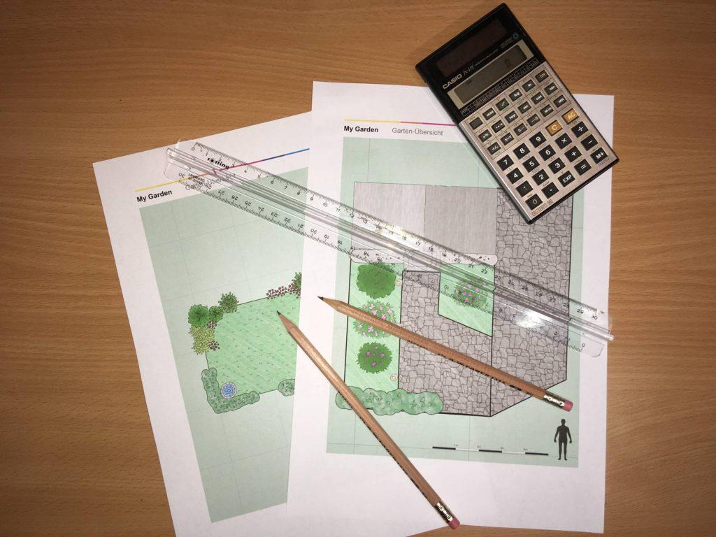 Garden irrigation planning